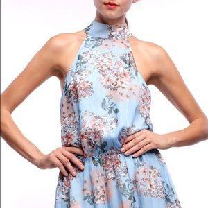 NWT🌷Line & Dot Festival Boho Floral Dress